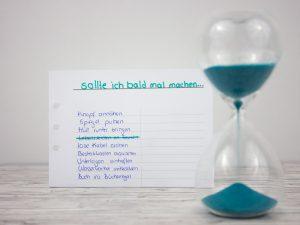 blauer Eisberg - 1-Minuten-Regel