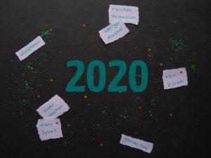 blauer Eisberg - Neujahr 2020