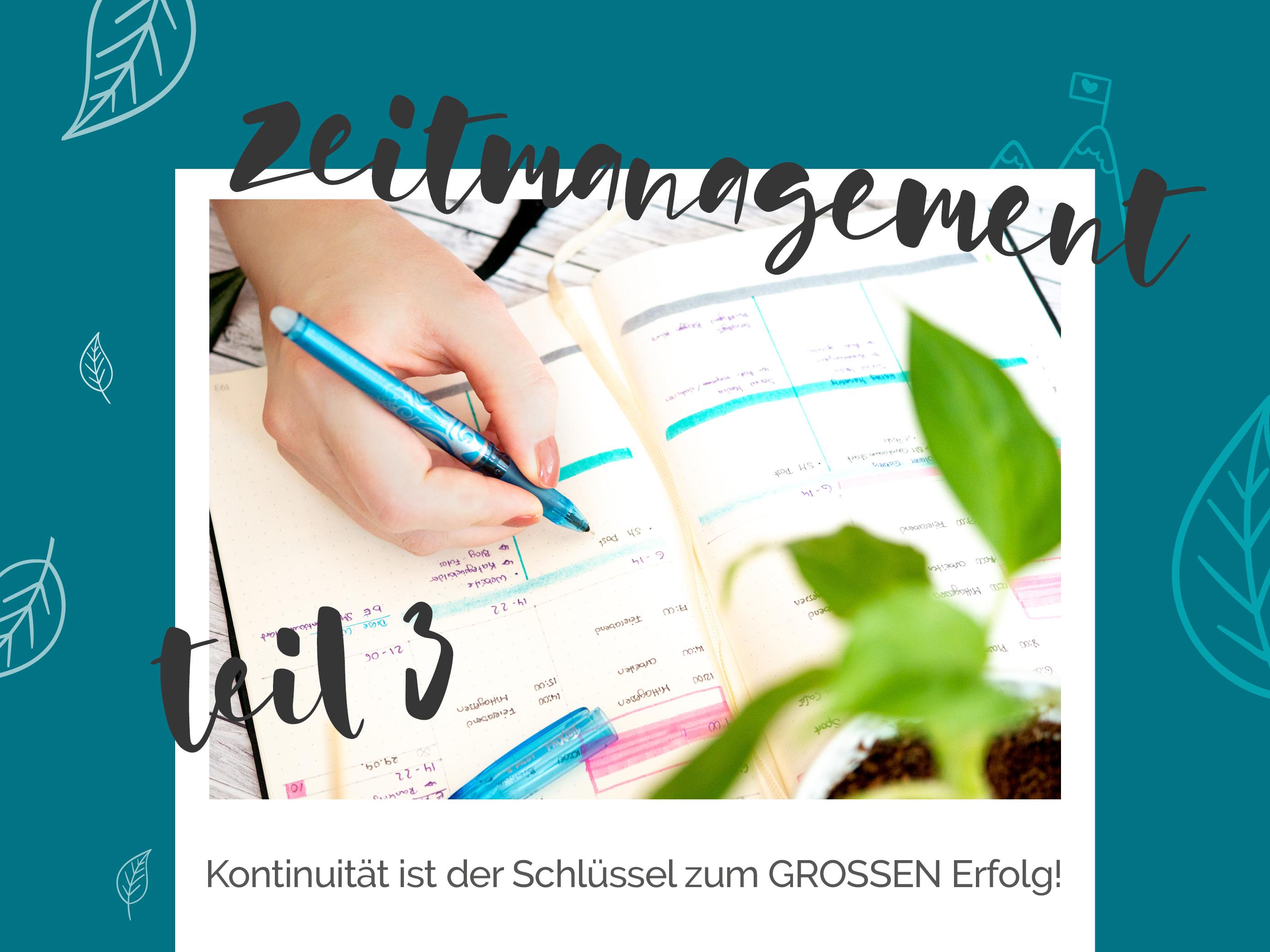 blauer Eisberg - Zeitmanagement Teil 3 Zeitfresser