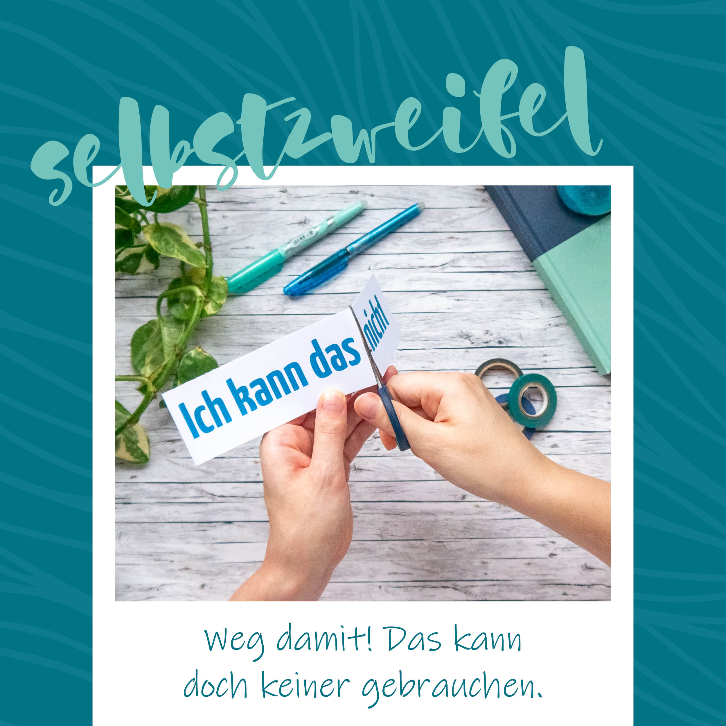 blauerEisberg _ Selbstzweifel