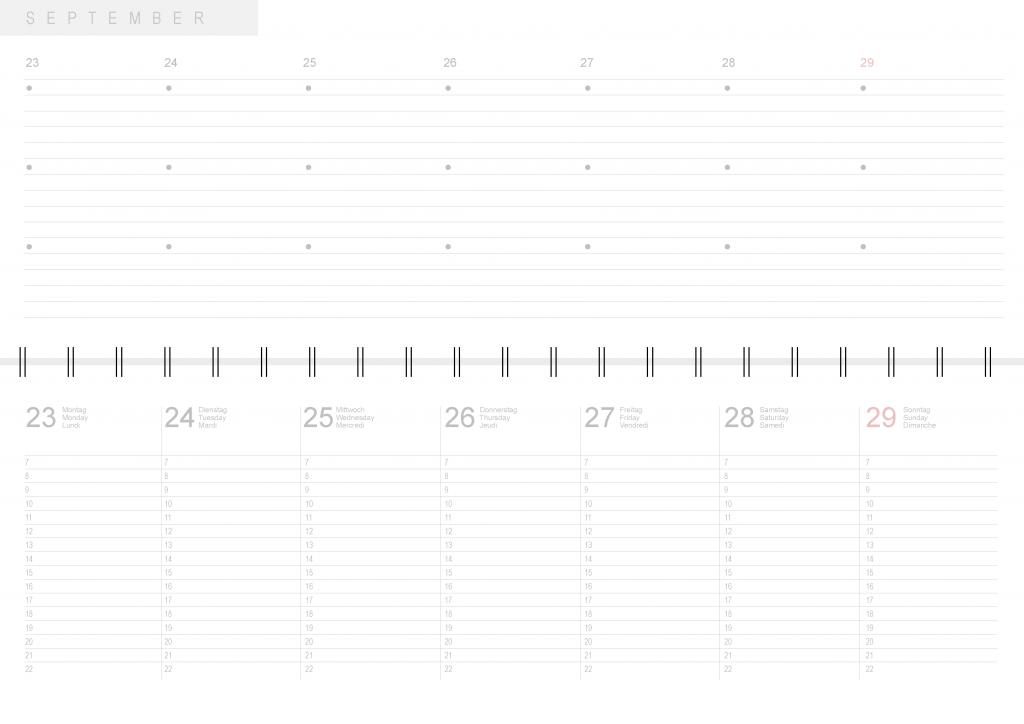 blauer Eisberg - Kalender im Vergleich Tischkalender