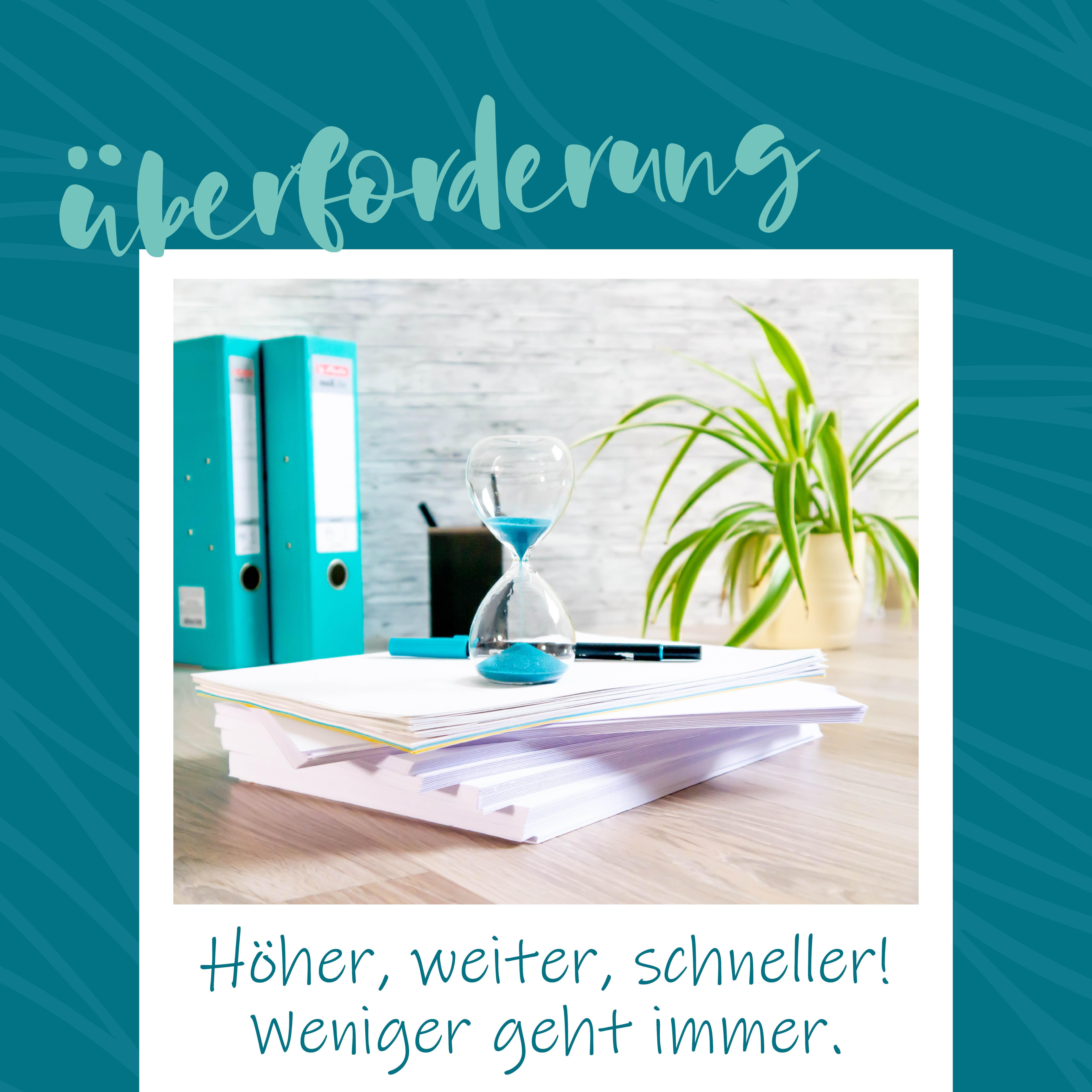 blauer Eisberg _ Überforderung